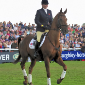Jack's retirement ceremony, Burghley 2008: Photo TH