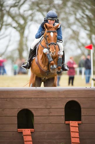 Jeanette Brakewell riding Ideal Sebastian