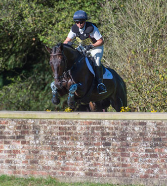 Jeanette Brakewel riding Cooley Master
